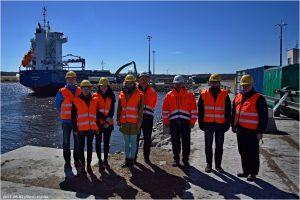 PIANC Eesti külastas Kunda sadamat